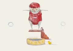 Water jump (twiing) Tags: olympics rio love color crazy man drawing draw digitalart dream design digital art august artist sketch sketching photoshop pencil person serene fruit bug illustration star stree beach sky portrait flowers sun summer light