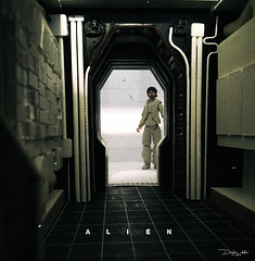 NOSTROMO-Mother-corridor-17 (sith_fire30) Tags: alien nostromo mother muthur6000 sulaco prometheus covenant dallas ash ripley chamber corridor bridge weyland yutani scratch building model making custom action figures toys diorama art sithfire30 dayton allen