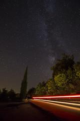 The Way of the Stars (Explored 16/08/2016 Thank's Everyone) (Christian Ferrari) Tags: stars sky light way milkway dark night tree explore explored