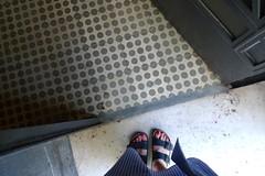 Mh (Mi Mitrika) Tags: mosaicohidrulico ps eu porto pretoebranco pintas riscas