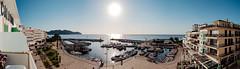 Cala Bona Harbour pan (Mark James Griffiths) Tags: hotelcalabona 2016 calabona holiday majorca sonservera illesbalears spain es