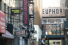 IMG_8237 (Mud Boy) Tags: newyork nyc brooklyn downtownbrooklyn espoisalsoanauditoryacronymforstevepowers exteriorsurfacepaintingoutreach stephenjpowersbornmay251968isanewyorkcityartistwhoatonetimewrotegraffitiinphiladelphiaandnewyorkunderthenameespo mural espo streetart graffiti euphoria stephenpowers boerumhill