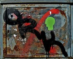 Ein Ork (web.werkraum) Tags: einork association vertrautheit jrrtolkien kunstschule ks karinsakrowski berlinerknstlerin berlin bildfindung street streetartberlin streetheads strassenkpfe black red grn untergrund hintergrund rot farbe farbreste aufkleber augenblick collageconcept coexistent deutschland dasdasein dual dokumentation documentation dada digitalphotographie europa expression eingang flickrnova germany green international lettering nahaufnahme omot original retouching streetart tagesnotiz typo versalien kopf kopfmuster tag urban urbanart urbanetypographie bermalung verortung webwerkraum wegzeichen typography typographie zeichen wirklichkeit dinglichkeit