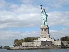 Statue of Liberty, Liberty Island, Hudson River, New York City (lensepix) Tags: statueofliberty libertyisland hudsonriver newyorkcity