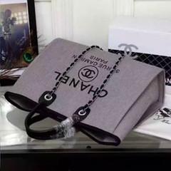 Chanel-Deauville-tote-Treschicshop (7) (TresChicShop.com) Tags: chanel tote handbag