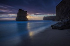Blue hour 12 Apostles (Pwa25) Tags: 12apostles victoria country australia sunset landscape outdoors bluehour clouds beach tourism nd longexposure