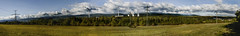 view of the Ore Mountains power plant chimneys (aksielza) Tags: power station mountains ore