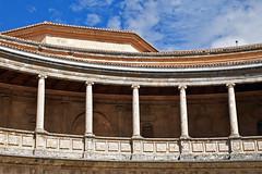 Carlos V Palace int 03 (L. Charnes) Tags: alhambra granada spain carlosv renaissance