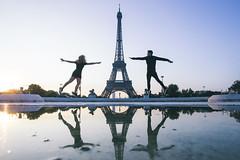 Our Paris perspective (Leo Hidalgo (@yompyz)) Tags: canon eos 6d dslr reflex yompyz ileohidalgo fotografa photography vsco paris travel france europe europa couple tour eiffel