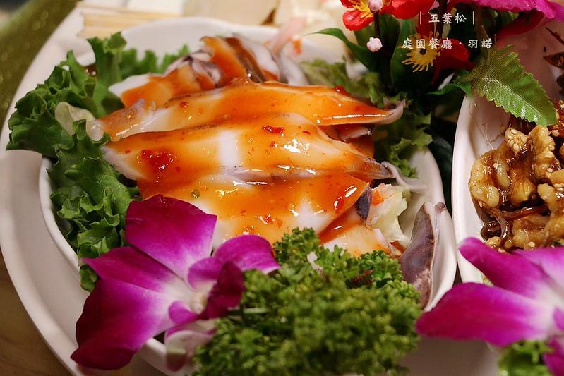 五葉松庭園餐廳樹林美食023
