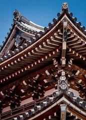 Gable Gate (campra) Tags: japan shimokita osorezan   bodaiji temple buddhist gate gable wood