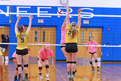 IMG_9941-01 (SJH Foto) Tags: girls volleyball high school lampeterstrasburg lampeter strasburg solanco team tween teen east teenager varsity net battle spike block action shot jump midair