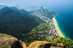 DSC_6040_HDR (sergeysemendyaev) Tags: 2016 rio riodejaneiro brazil pedradagavea    hiking adventure best    travel nature   landscape scenery rock mountain    high green   summit  ocean blue  beautiful beauty amazing