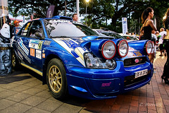 Subaru STI n21 (cedric.harbulot) Tags: city car sport race speed nikon place sigma voiture des course subaru impreza nouvellecaldonie newcaledonia ville rallye vitesse cocotiers nouma worldcars 18250mm d5300
