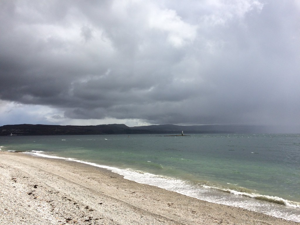 Rain over the Firth