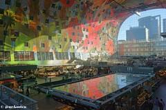 Rotterdam (MichelvanKooten.werkaandemuur.nl) Tags: holland netherlands architecture hall rotterdam market markt markthal