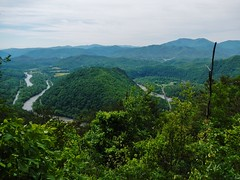 The View from Paint Mountain Tennessee (Capricorn Bicycles) Tags: county hot creek paint hiking tennessee north hike trail madison springs area carolina recreation appalachian appalachia mountian