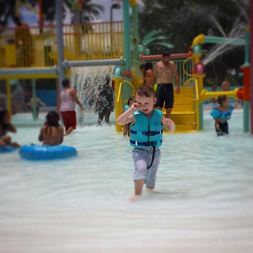 Not a whole lot of pictures from today at #AdventureIsland because, you know, I was enjoying the moment and stuff ;)