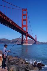Golden Gate Bridge 7 (luco*) Tags: usa pêcheur fisherman states californie california san francisco golden gate bridge pont baie bay red rouge ciel sky flickraward flickraward5 étatsunis united america damérique amérique