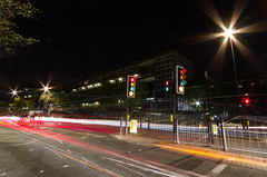 Roads of London (17 of 18) (johnlinford) Tags: city longexposure england urban london night landscape lights poplar unitedkingdom 7d gb docklands canonefs1022 canoneos7d