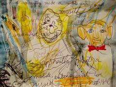 I have, apparently, made a mobile unbeknownst to myself. (giveawayboy) Tags: art monster mobile pen painting tampa sketch paint artist acrylic drawing squid crayon lafferty fch giveawayboy billrogers ralafferty audifax epkit raphaelaloysiuslafferty arriveateasterwinetheautobiographyofaktistecmachine arriveateasterwine easterwine audifaxohanlon domdaniel goofmobile
