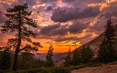 Yosemite National Park Sunset (jnthorpe) Tags: sunset landscape yosemite dome sentinel