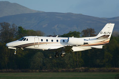 G-XLTV.EDI130516 (MarkP51) Tags: plane airplane scotland airport nikon edinburgh image aircraft aviation edi cessna bizjet egph corporatejet citationexcel 560xls d7200 gxltv markp51