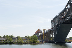 Bayonne Bridge Kill Van Kull (Terese Loeb) Tags: bridge construction statenisland newyorkharbor bayonnebridge killvankull