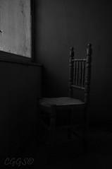"La espera ~ The wait (""CGGS Photography"" on Facebook) Tags: old light blackandwhite bw espaa sun classic byn blancoynegro night contrast photoshop photography mono spain nikon photographer bnw fotografo fotografa fotografa monocromtico d90 wheniwasachild cggs nikond90"