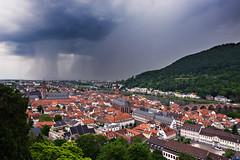 Storm of Spring (JØN) Tags: city storm castle rain river germany deutschland spring nikon view thunderstorm heidelberg heavy 1735mmf28d schloss rainfall neckar downpour d700