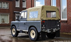 Land Rover 88 pick up 1974 (XBXG) Tags: auto old uk england holland classic netherlands up car vintage 1974 automobile nederland rover voiture land british pick 88 landrover paysbas engeland limburg ancienne laro anglaise jb9816