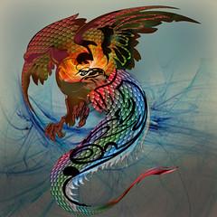 cockatrice (jaci XIII) Tags: cock lizard fantasy chimera mythology lagarto galo basilisco quimera mitologia basilisk cockatrice