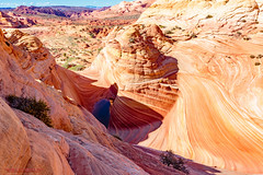 Around The Wave (mikerhicks) Tags: travel arizona usa southwest nature geotagged outdoors photography utah spring unitedstates desert hiking adventure event backpacking wilderness kanab thewave marblecanyon onemile coyotebuttesnorth vermilioncliffsnationalmonument geo:country=unitedstates camera:make=canon exif:make=canon geo:state=arizona exif:focallength=18mm exif:aperture=90 exif:lens=1835mm exif:isospeed=100 canoneos7dmkii camera:model=canoneos7dmarkii exif:model=canoneos7dmarkii sigma1835f18dchsma geo:lon=11200611166667 geo:lat=3699556167 geo:lon=11200621000 geo:lat=36995555 geo:location=onemile geo:city=marblecanyon