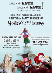 Alice Wonderland Looking Through Glass - Custom Birthday Invitation (hunnyblessing) Tags: alice wonderland madhatter aliceinwonderland 2016 alicewonderland lookingthroughtheglass queenofheart aliceinwonderlandbirthday alicewonderlandbirthday alicewonderlandinvitation alicewonderlandprintable alicethemeparty aliceteapartyinvite cheapalicewonderland alicewonderlandfavorstag