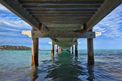 Santa Giulia ! (Stphane LANDMANN) Tags: santa beach corse corsica plage ponton giulia santagiulia