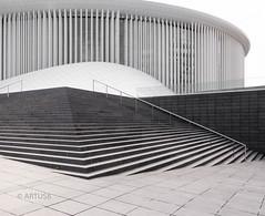 Philharmonie Luxemburg (artus8f) Tags: flickr struktur treppe architektur luxembourg kurve modernearchitektur