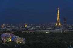 paris by night (lugandthomas) Tags: paris france night tour eiffel montparnasse bfm