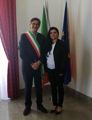 Sindaco Corrado Calvo Rosolini (SR)