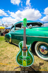 Verde Verde Bomba (DGNacho.com) Tags: blue sky cloud verde green car clouds wow los san shiny angeles bass guitar signature fernando strings bomba custom bomb lowrider cloudporn bajosexto quintos