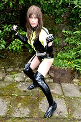After watching Watchmen late the other night I decided on the spur of the moment to treat myself to a Silk Spectre Costume on eBay. What do you think? (Miss Nina Jay) Tags: tights trannie tranniesuperhero