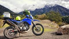 2016-06-04_07-17-53 (xron_piratax) Tags: chile santiago ride outdoor nieve adventure nubes yamaha cordillera xt660 cajondelmaipo