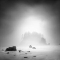 Trinidad Head (nlwirth) Tags: california longexposure light blackandwhite seascape fog zen yup humboldtcounty nlwirth trinidadheadstatebeach