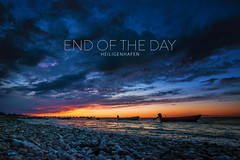 END OF THE DAY (Herr.Kaleu) Tags: ocean sunset sea summer nature water clouds landscape meer sonnenuntergang sommer natur wolken baltic sonne ostsee heiligenhafen sondowner