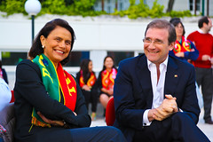 Portugal X Islândia na Sede Nacional do PSD