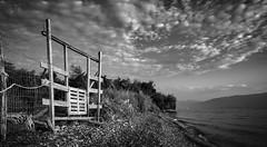 Door to Serenity (panos_adgr) Tags: nikon d7200 landscape sea clouds beach sky greece peloponnese temeni aigio opake summer