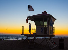 A Tough Job, But A Great View From The Office #hb #huntingtonbeach #lifeguard #sunset #hblifeguard #hblifeguards #surfcityusa (FilmAndPixels) Tags: ifttt instagram nikon nikond7200 d7200 beach lifeguard sunset huntingtonbeach california ocean