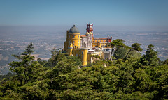 Pena Palace (Mika Laitinen) Tags: canon7dmarkii europe portugal sintra nature outdoor sky summer lisboa pt castle pena ef24105mmf4lisusm old landscape tree color