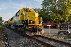 Sugar Loaf (sullivan1985) Tags: railroad summer ny newyork train july railway caboose sugarloaf orangecounty westbound yellowjacket susquehanna susieq emd sd60 nysw newyorksusquehannawestern su99 nysw3804 nysw3802 nysw3806
