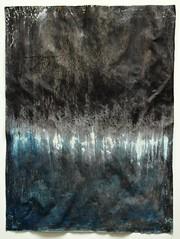 Bild_1927_blue_black_50_37,5_cm_mixed_media_on_paper_2016 (ART_HETART) Tags: hetzel contemporary art paperwork texture modern marks scratches