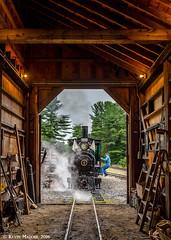 Time to move (kdmadore) Tags: wwf wiscassetwatervillefarmington wiscasset alna steamlocomotive railroad narrowgauge maine2foot wwfry train